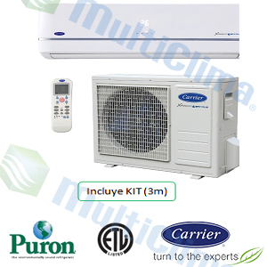Pared Alta Carrier Xpower SAFIRUS SEER 26 R410
